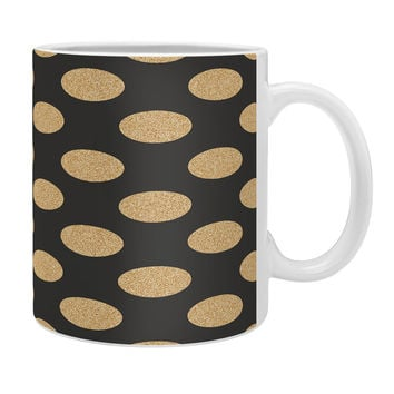 Allyson Johnson Glittering Gold Coffee Mug