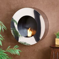 Wildon Home ® Hillside Wall Mounted Gel Fuel Fireplace