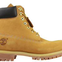 "Timberland Men's 6"" Premium Waterproof Boots - Wheat"