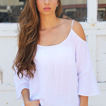 Pearly White Blouse