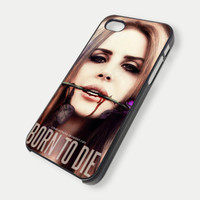 lana del rey on IPhone case 4 / 4S / 5,samsung S2,S3 Case Cover