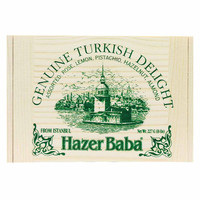 Premium Turkish Delight in Traditional Wooden Box by Hazer Baba 8 oz