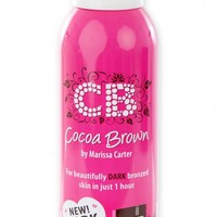 Number 1 Selling Tan, Cocoa Brown Tan » 1 HOUR TAN MOUSSE DARK