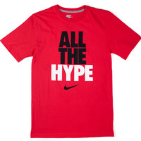 Tees - Graphic - Nike All The Hype Tee - Red - DTLR -  Down Town Locker Room. Your Fashion, Your Lifestyle!