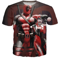 Harley Quinn/Deadpool Shirt