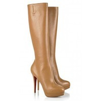 Christian Louboutin Alti 140 leather boots $262,christianlouboutin,namely red bottom shoes,discount louboutins