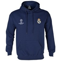 Real Madrid UEFA Champions League Hoody - Mens Navy