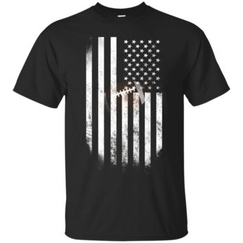 American Flag Vintage Football Flag T-Shirt, Dad, Mom, Kid T-shirt