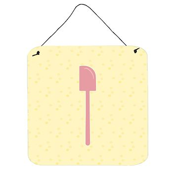 Spatula on Yellow Wall or Door Hanging Prints BB7283DS66