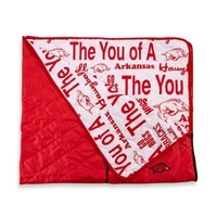 University of Arkansas Indoor/Outdoor Throw Blanket