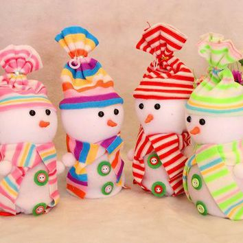 MDIGUG3 Christmas Decoration Snowmen Gift Bags [9199618052]