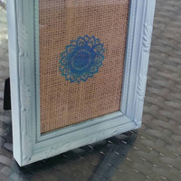 Small Beach Blue picture frame
