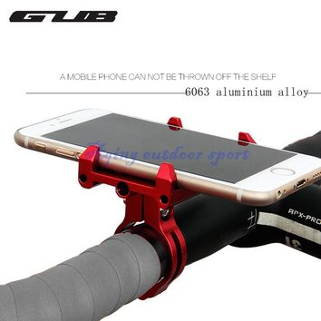 GUB Alloy frame Mobile Phone Rack For Bicycle Riding GPS/PDA/MP4/TECHKI Folder Fit For3.5-6.2 Inch cellphone 5 Colors