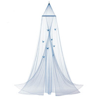 Blue Butterfly Bed Canopy