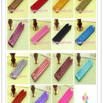 9*1.1*1.1cm Colorful Sealing Wax Stick Stamp Wax For Documents Sealing 1piece lot 074004031