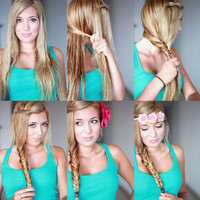 Superficial Girls: How to - Fishtail Braid