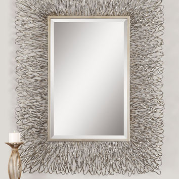 Corbis Decorative Metal Mirror
