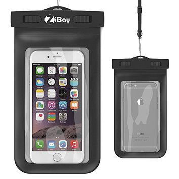 Flexion Kinetic Series Waterproof Case for Apple iPhone 6, 5S, 5C, 5, Samsung Galaxy S6 And S6 Edge S5, S4 - Black