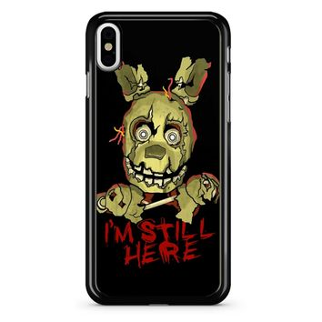 Five Nights At Freddy S Springtrap iPhone X Case