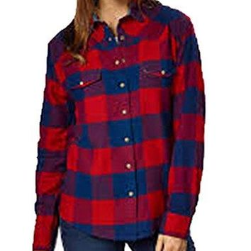 Jachs Girlfriend Ladies Flannel Shirt