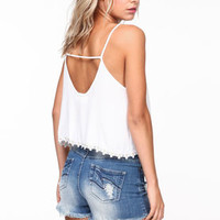 Daisy Trim Crop Top - LoveCulture