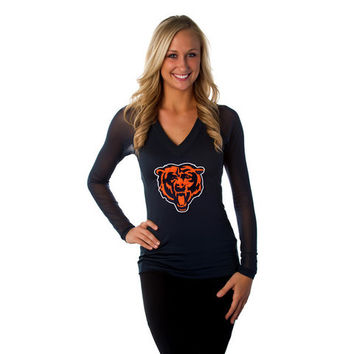 "Chicago Bears Women's Official NFL ""Wildkat"" Top"