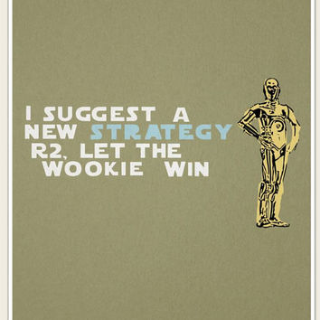stars wars funny quotes..  darth vader, chewy, c3p0 and a storm trooper.. digital downloads