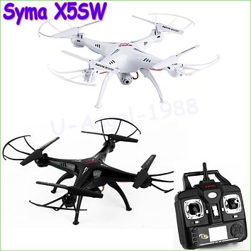 Syma X5SW 2.4G 50M RC Drone Quadcopter with Camera 6-Axis Real Time RC Helicopter
