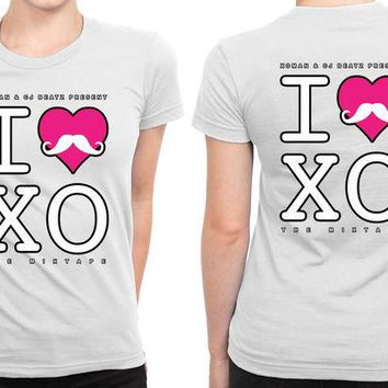 DCCK7H3 I Love The Weeknd Xo B 2 Sided Womens T Shirt