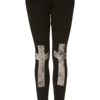Cross Knee Leggings - New In