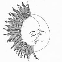 sun and moon tumblr - Google Search