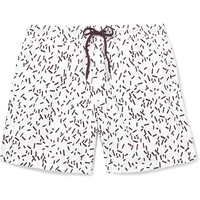 COS - Printed Cotton-Blend Swim Shorts | MR PORTER