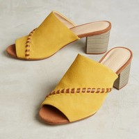 Farylrobin Color Pop Whipstitch Block Heels