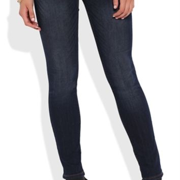Curvy Dark Wash Super Stretchy Jegging