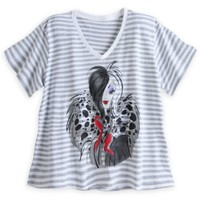 Cruella De Vil Fashion Tee for Women - Plus Size