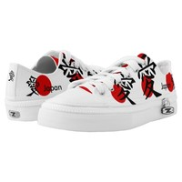 National flag of Japan - Hinomaru Low-Top Sneakers