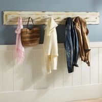 Rustic Wood Multi Hook