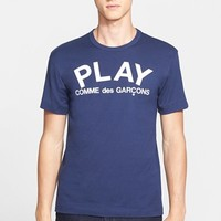 Men's Comme des Garcons 'Play' Graphic T-Shirt