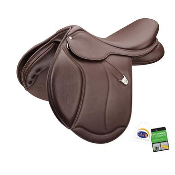 Bates (CAIR) Caprilli Close Contact Plus Saddle with Luxe Leather