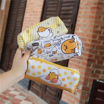 Random Shipment!Cartoon Gudetama Comestic Makeup Bag Women Organizer Handbag Clutch Girls Pencil Case Phone Bag Christmas Gifts