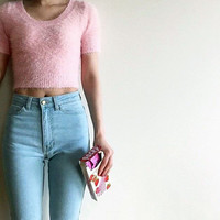 American Apparel AA Classic High Waist Jeans