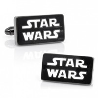 Star Wars Mens Logo Cufflinks with Collectible Gift Box