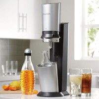 Soda Stream 1016511011 Crystal Black/ Silver Soda Maker