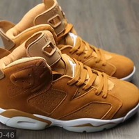 Beauty Ticks Nike Air Jordan 6 ¢¦ Men Running Sport Casual Breathable Boots Basketball Shoes Sneakers