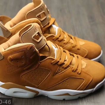 nike air jordan 6 men running sport casual breathable boots basketball shoes sneakers
