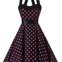 50's Rocking Rebel Pin Up Dresses - 3 Colors