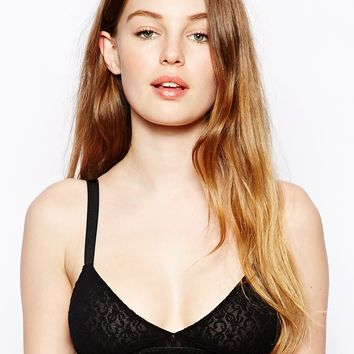 Ganni Lace Bra Top