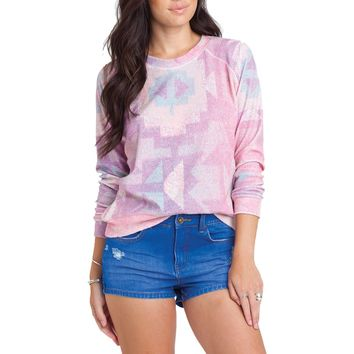 Billabong Horizon Heat Pullover Sweatshirt - Women's Tanline,