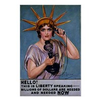 Hello! This is Liberty Speaking ~ Vintage WW1