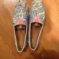 Kappa Kappa Gamma Toms Shoes Inspired by Lilly Pulitzer